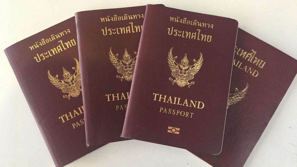 Forgetting to take along the passport