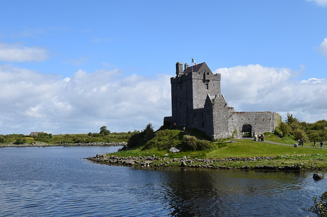 Dunguaire Castle in Ireland
