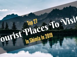 Tourist Places To Visit In Shimla