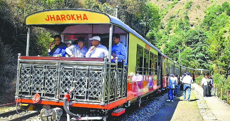 Toy Trains from Kalka to Shimla