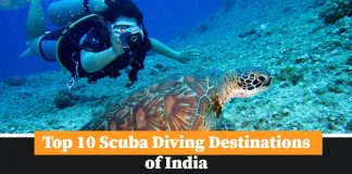 Sucba Diving Destination of India