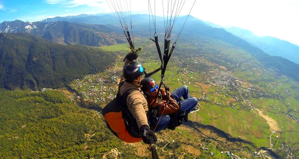 Paragliding Courses Available