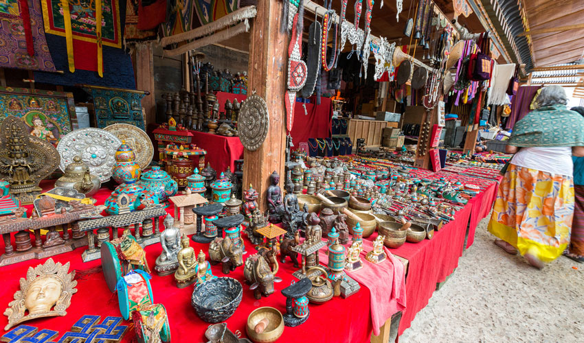 Local handicrafts
